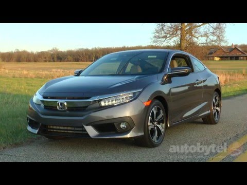 2016 Honda Civic Coupe 1.5L Turbo Video Review