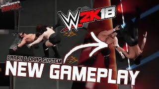 WWE 2K18: 2KDEV Spotlight Series #5 - New Carry & Drag System Gameplay!