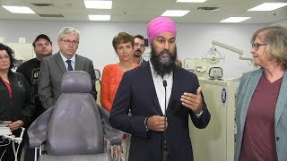 Campaign Day 8: Trudeau money for seniors, less for corp. from Scheer and Singh promises 'denticare'