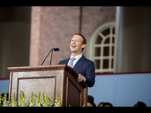 Facebook Founder Mark Zuckerberg Commencement Address | Harvard Commencement 2017