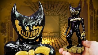 Making Monster Bendy from Bendy and the Ink Machine