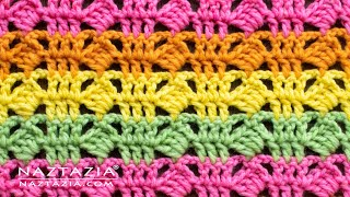 How To CROCHET TILTED SQUARE STITCH Pattern DIY Tutorial - Easy Stitches For A Blanket, Scarf, Shawl