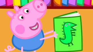 Peppa Pig English Episodes | Peppa Pig Learns to Read | Peppa Pig Official