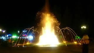 Батуми сейчас 29.08.2018 Ночной танцующий фонтан ⛲