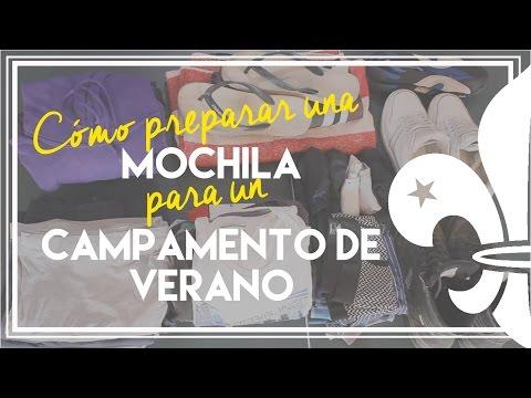 Cómo preparar una MOCHILA para un CAMPAMENTO DE VERANO | Un scout