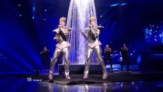 HD Eurovision 2012 Ireland: Jedward - Waterline (Semi-Final 1)