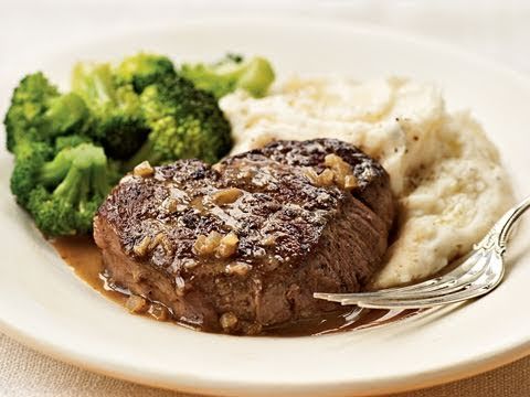 Brandy and Mustard-Glazed Tenderloin Steak Recipe