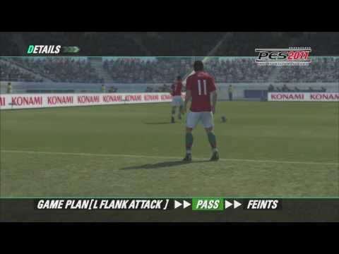 PES 2011 gamelay footage revealed