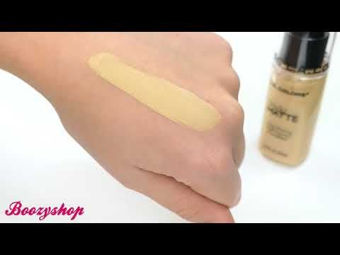 LA Colors LA Colors Truly Matte Foundation Nude