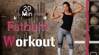20 Min Hardcore Indoor Fatburn Workout #2 - HIIT - Fettverbrennung und Muskelaufbau garantiert! by BodyKiss