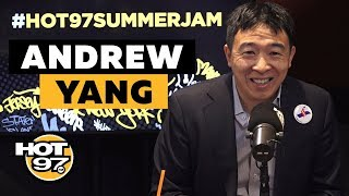 Ebro In The Morning - Andrew Yang On Giving Every American $1000 A Month, Dropping Voting Age + Circumcision Controversy