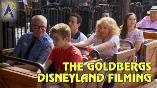 """Cast of ABC's """"The Goldbergs"""" taping scenes for Vacation episode at Disneyland"""
