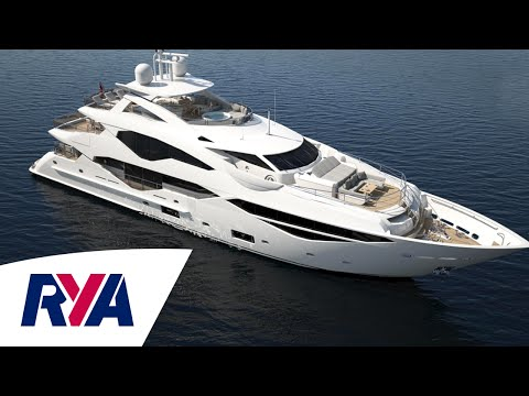 Sunseeker 131 Luxury Super Tri-Deck Yacht Boat Tour –  London Boat Show 2016