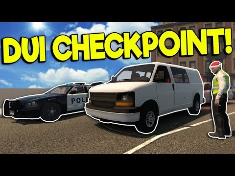SPEED ZONE UPDATE & DUI CHECKPOINT! – Flashing Lights Gameplay – Police Simulator 2018
