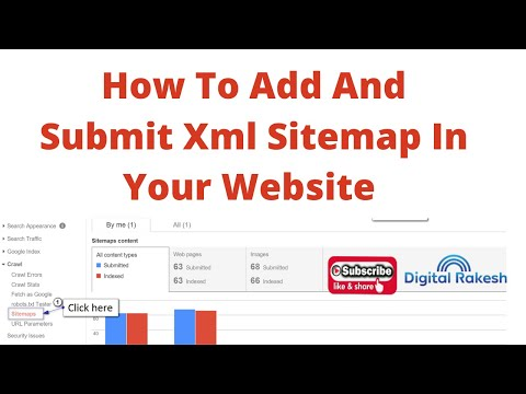 How to add and submit xml sitemap in your website google search console