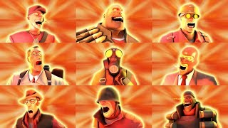 All Team Fortress 2 Classes Screaming