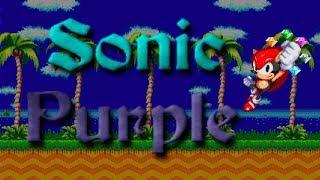 Sonic: Project Purple (Demo 2) - Walkthrough - Fan Game