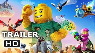 PS4 - LEGO Worlds Official Trailer (2017) Video Game HD