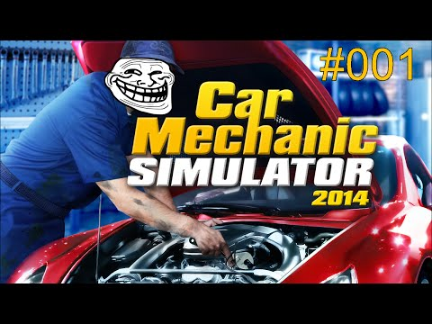 MIT DER FONDUEGABEL IN DIE HAND GESTOCHEN ► Let's Test Car Mechanic Simulator 2014
