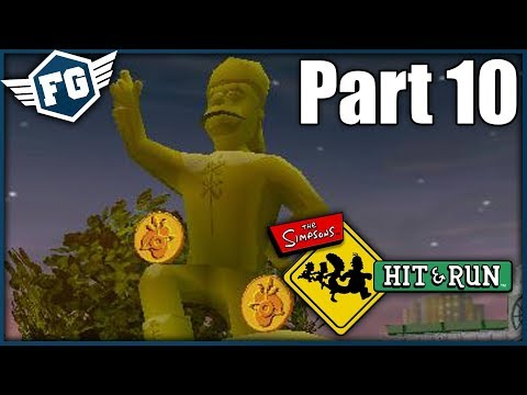 BART VS MIMOZEMŠŤANÉ - The Simpsons Hit & Run #10