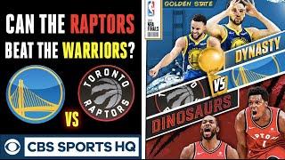 Can the Raptors beat the Warriors?   Toronto advances to the NBA Finals   CBS Sports HQ