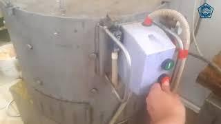 Центрифуга для обработки слизистых субпродуктов