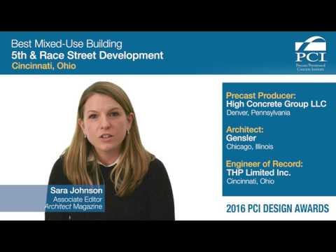 PCI Design Award Best Mixed-Use Building