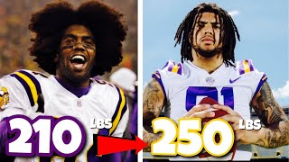 Comparing Former NFL Stars to their Sons