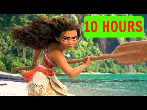 [10 HOURS][LYRICS] How Far I'll Go - Auli'i Cravalho ORIGINAL - Loop