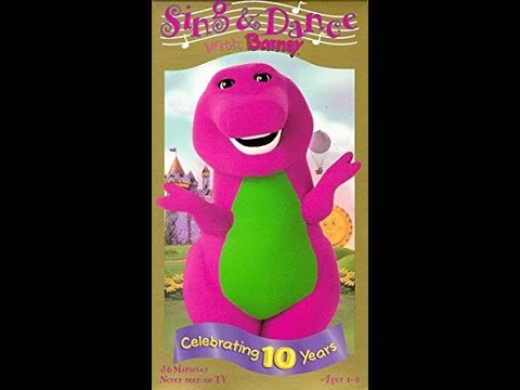 sing and dance with barney original 1999 vhs rip