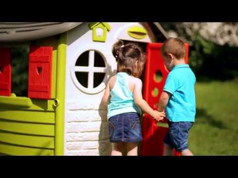 Casetta da giardino per bambini Jura Lodge Smoby