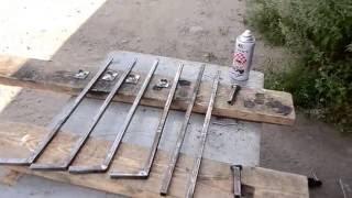 Удобное складное кресло для рыбалки своими руками