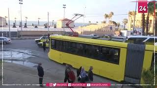 """ترام الإسكندرية الجديد مجهز بوحدات مكيفة مع خدمة """"واي فاي"""""""