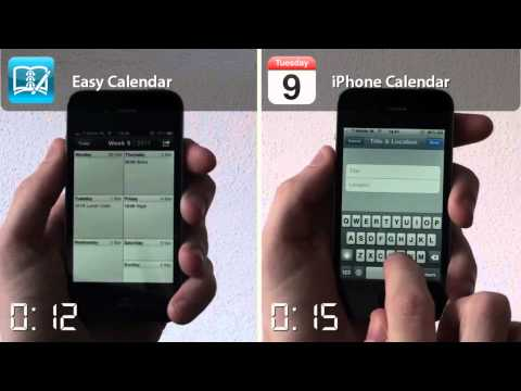 Easy Calendar For iPhone Shows The Whole Week At Once
