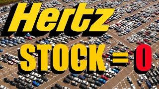Hertz Stock Going To Zero : Bankruptcy Stocks Explained Simply