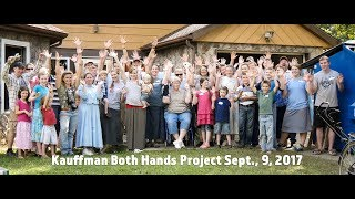 Kauffman Both Hands Project Sept  9, 2017