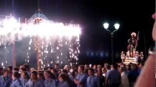 preview picture of video 'Trionfino - Festa di San Rocco 2012 - Scilla'
