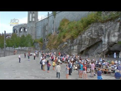 Chapelet du 15 septembre 2020 à Lourdes