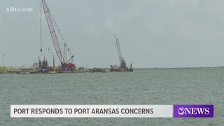 Port Aransas expresses concern over cost of waterline relocation