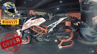 WOW KTM OFFER || MY NEW HELMET AND TYRES