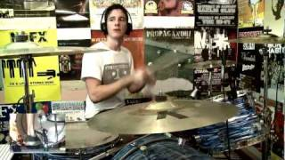 Strung Out - Velvet Alley (Drum Cover) [HD] - Kye Smith