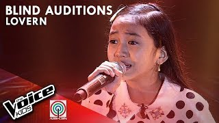 Lovern Apa - Ikaw Ay Ako | Blind Auditions | The Voice Kids Philippines Season 4