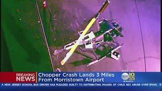 Helicopter Crash Lands In Chatham