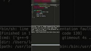 Why GLOBAL Arrays can have LARGER size than LOCAL Arrays in C/C++ ?  #shorts
