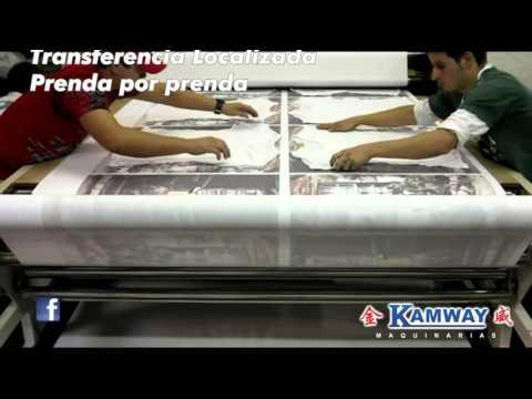 Kamway Calandra Textil Sublimación