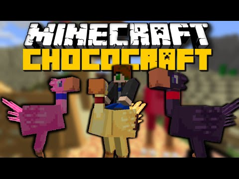 Minecraft: CHOCOCRAFT MOD (Breed Animals, Nether Items & More) Mod Showcase