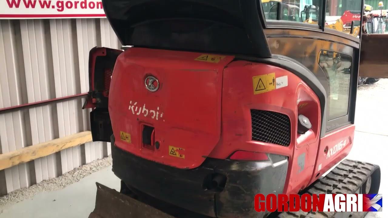Kubota KX016-4 Mini Excavator