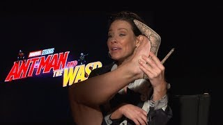 Evangeline Lilly Shares Wasp Costume Woes & Marvel Stars Who Complain Most