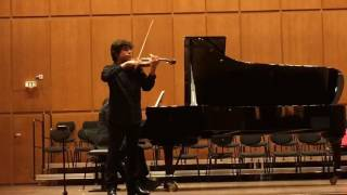 PETRE ABRAHAM SMEU Fragment  Felix Mendelssohn Bartholdy Violinkonzert e-Moll Opus 64