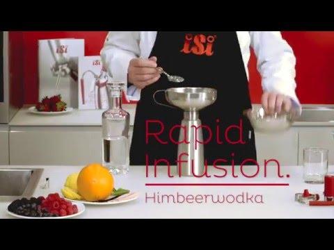 iSi Rapid Infusion Himbeerwodka
